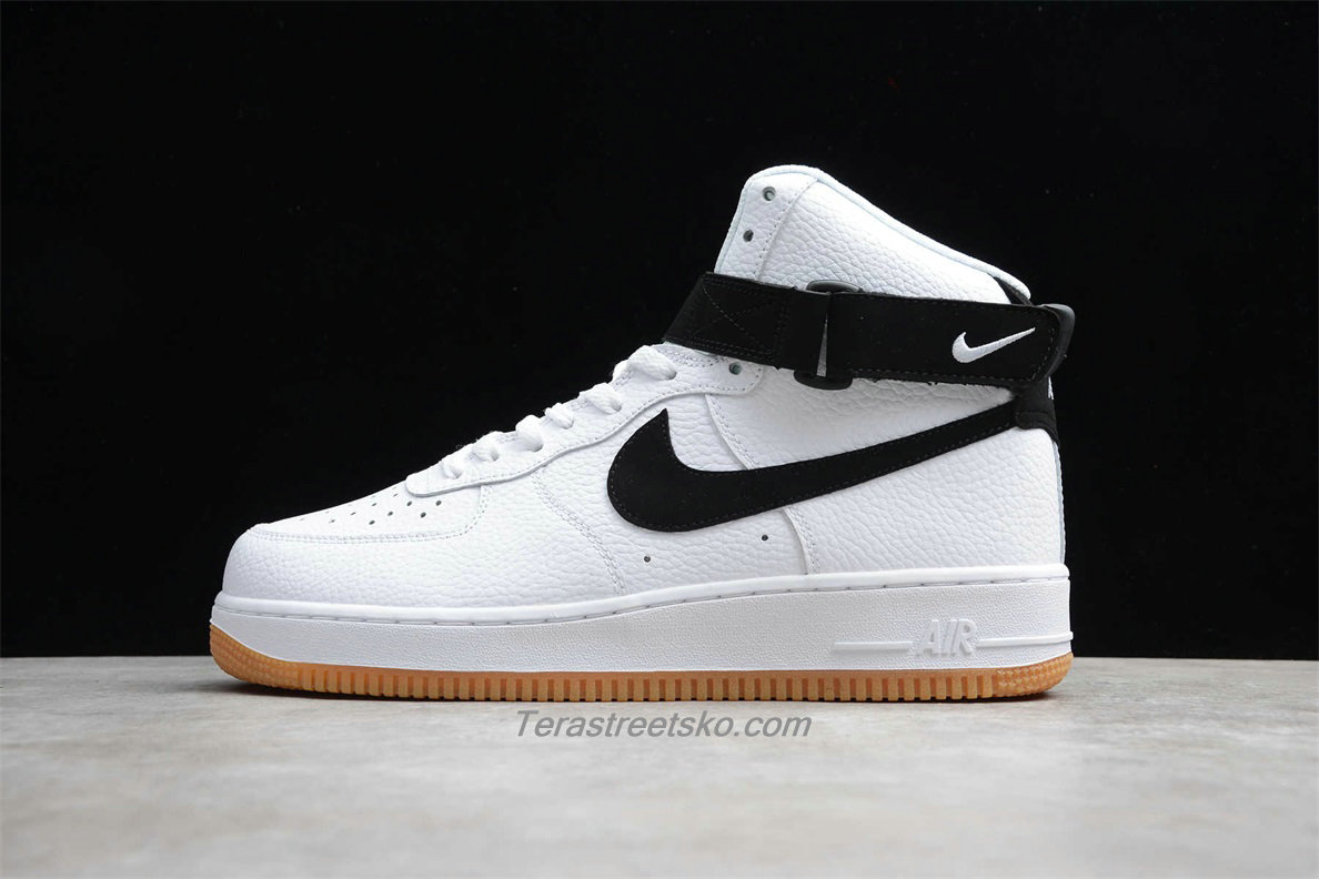 Nike Air Force 1 High 07 2 AT7653 100 Hvid / Sort Sko
