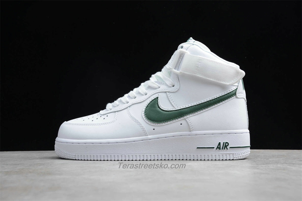 Nike Air Force 1 High 07 3 AT4141 104 Hvid / Grøn Sko