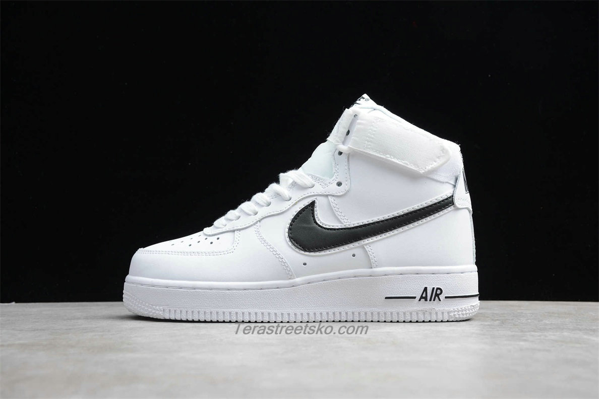 Nike Air Force 1 High 07 3 AT4141 108 Hvid / Sort Sko