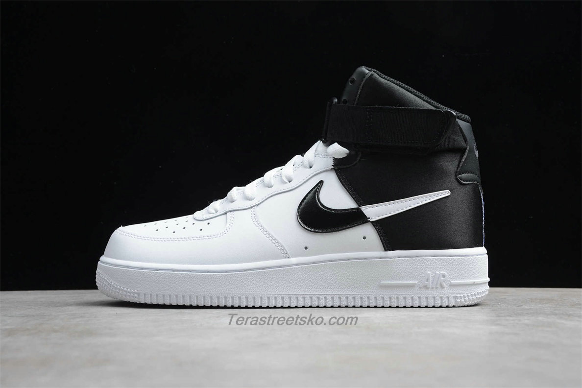 Nike Air Force 1 High 07 LV8 BQ4591 001 Hvid / Sort Sko